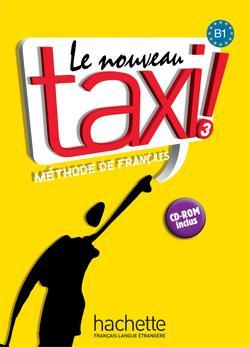 خرید کتاب فرانسه Le Nouveau Taxi ! 3 + Cahier + DVD-ROM