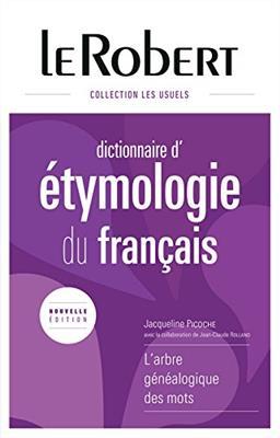 خرید کتاب فرانسه Le Robert Dictionnaire d' etymologie du francais