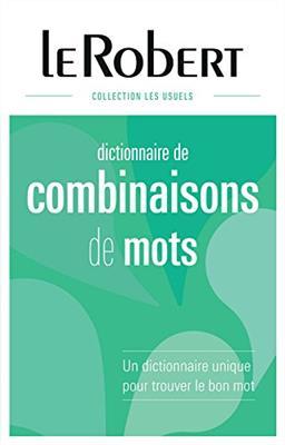 خرید کتاب فرانسه Le Robert Dictionnaire de Combinaisons de Mots