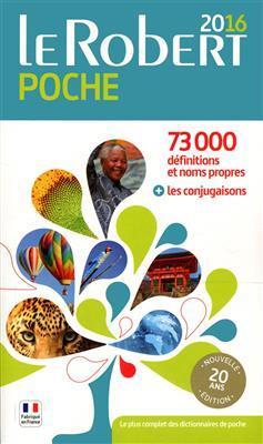 خرید کتاب فرانسه Le Robert de poche 2016