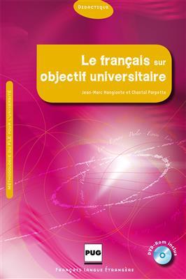 خرید کتاب فرانسه Le français sur objectif universitaire (DVD-Rom inclus)