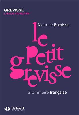 خرید کتاب فرانسه Le petit Grevisse - Grammaire française