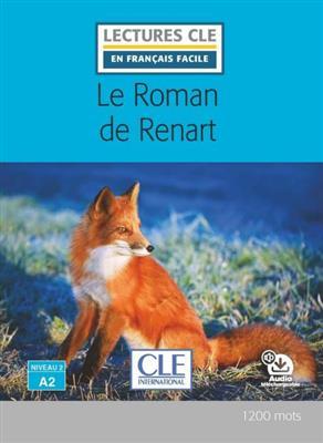 خرید کتاب فرانسه Le roman de renart - Niveau 2/A2 + CD