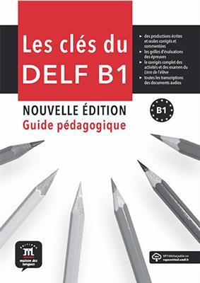خرید کتاب فرانسه Les clés du DELF B1 Nouvelle édition – Guide pédagogique