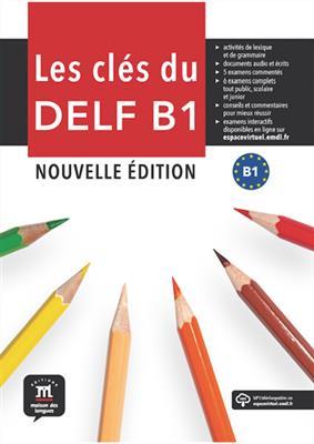 خرید کتاب فرانسه Les cles du DELF B1 Nouvelle édition – Livre de l'élève