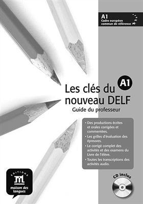 خرید کتاب فرانسه Les clés du nouveau DELF A1 – Guide pédagogique + CD audio