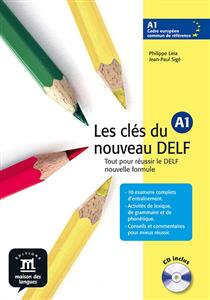 خرید کتاب فرانسه Les cles du nouveau DELF A1 + CD audio