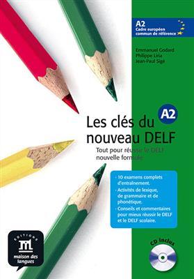 خرید کتاب فرانسه Les cles du nouveau DELF A2 + CD audio