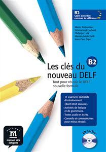 خرید کتاب فرانسه Les cles du nouveau DELF b2 + CD audio