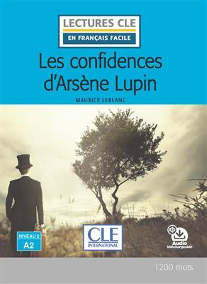 خرید کتاب فرانسه Les confidences d'Arsène Lupin - Niveau 2/A2 + cd
