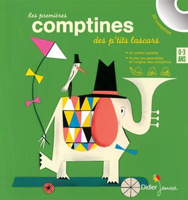 خرید کتاب فرانسه Les premieres comptines des p'tits lascars