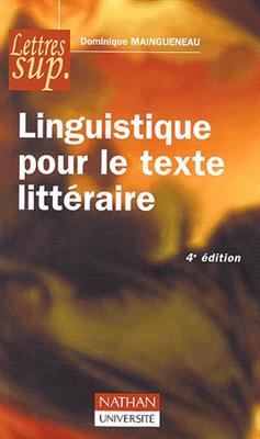 خرید کتاب فرانسه Linguistique pour le texte litteraire