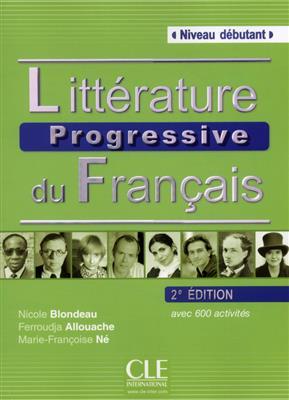 خرید کتاب فرانسه Litterature progressive du Français debutant + CD - 2eme edition