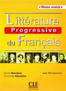 خرید کتاب فرانسه Litterature progressive du français - avance