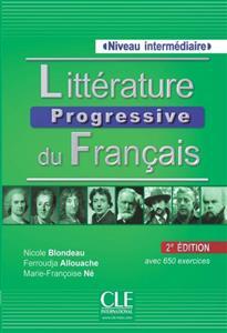 خرید کتاب فرانسه Litterature progressive du français - intermediaire + CD - 2eme edition