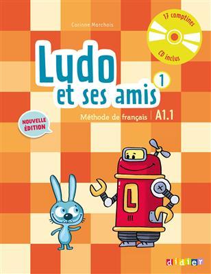 خرید کتاب فرانسه Ludo et ses amis 1 niv.A1.1 (éd. 2015)