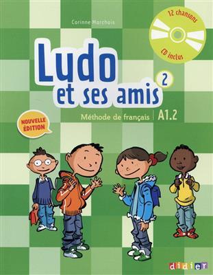 خرید کتاب فرانسه Ludo et ses amis 2 niv.A1.2 (éd. 2015)