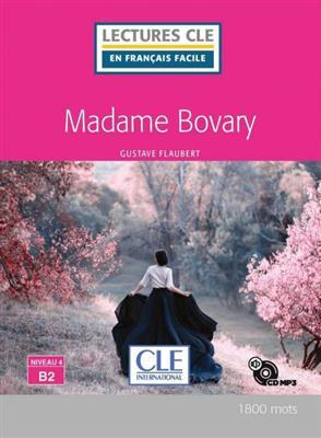 خرید کتاب فرانسه Madame Bovary - Niveau 4/B2 + CD