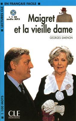 خرید کتاب فرانسه Maigret et la vielle dame