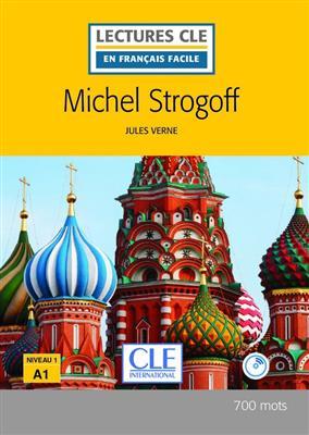 خرید کتاب فرانسه Michel Strogoff - Niveau 1/A1 + CD - 2eme edition