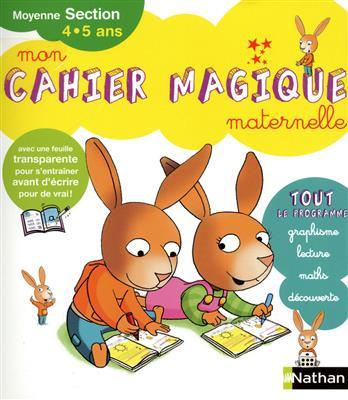 خرید کتاب فرانسه Mon Cahier magique MS Maternelle 4.5
