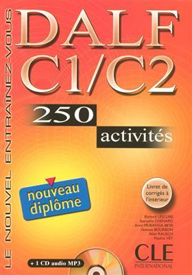 خرید کتاب فرانسه Nouveau DALF - Niveaux C1/C2 + CD