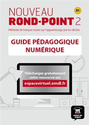 خرید کتاب فرانسه Nouveau Rond-Point 2 – Guide pedagogique