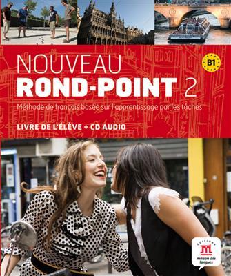 خرید کتاب فرانسه Nouveau Rond-Point 2 + Cahier + CD audio