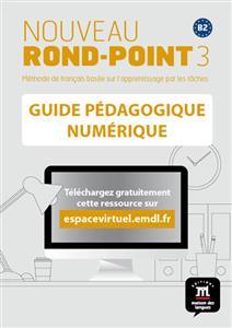 خرید کتاب فرانسه Nouveau Rond-Point 3 – Guide pedagogique