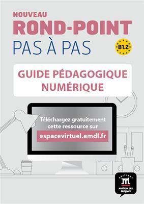 خرید کتاب فرانسه Nouveau Rond-Point pas a pas 4 – Guide pedagogique