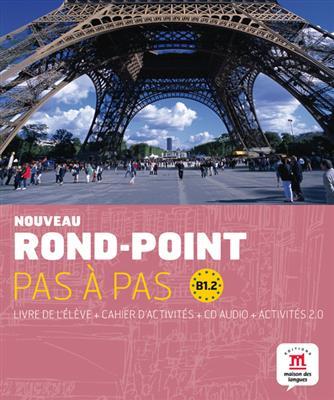 خرید کتاب فرانسه Nouveau Rond-Point pas a pas 4 B1.2