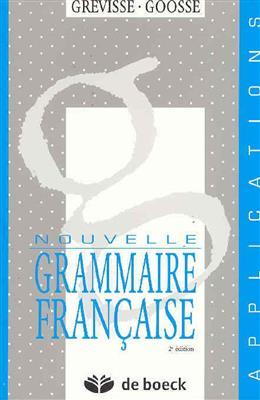 خرید کتاب فرانسه Nouvelle grammaire française - Grevisse - Applications