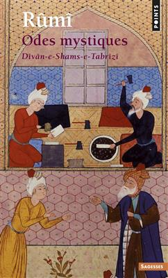 خرید کتاب فرانسه Odes mystiques Dîvân-e-Shams-e-Tabrîzî