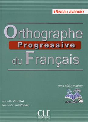 خرید کتاب فرانسه Orthographe progressive du francais - avancé + CD