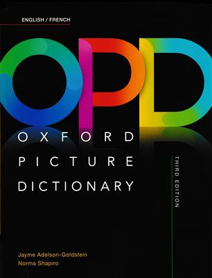 خرید کتاب فرانسه Oxford Picture Dictionary OPD English/French Dictionary