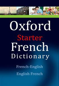خرید کتاب فرانسه Oxford starter french dictionary