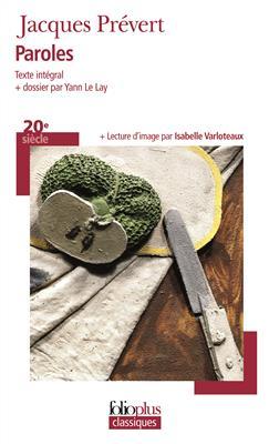 خرید کتاب فرانسه Paroles