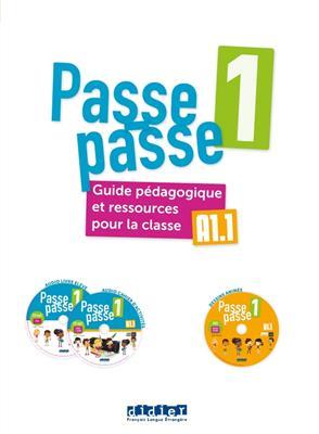 خرید کتاب فرانسه Passe – passe niv. 1 – Guide pédagogique