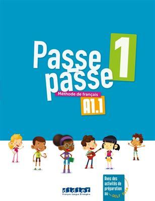 خرید کتاب فرانسه Passe - Passe 1 - Livre + Cahier + CD