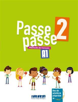 خرید کتاب فرانسه Passe - Passe 2 - Livre + Cahier + CD