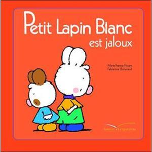 خرید کتاب فرانسه Petit Lapin Blanc - : Petit Lapin Blanc est jaloux