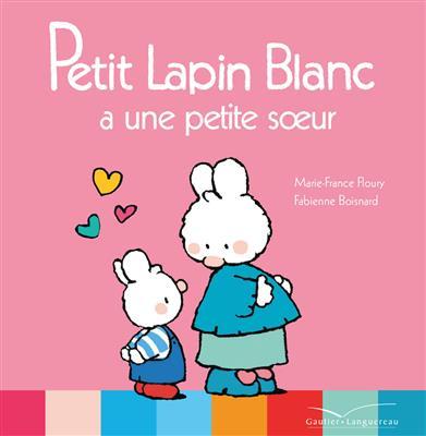 خرید کتاب فرانسه Petit Lapin Blanc a une petite soeur