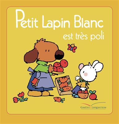 خرید کتاب فرانسه  Petit Lapin Blanc est tres poli