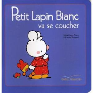 خرید کتاب فرانسه Petit Lapin Blanc va se coucher