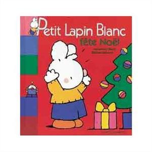 خرید کتاب فرانسه Petit lapin blanc fete Noel