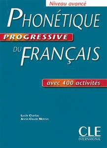 خرید کتاب فرانسه Phonetique progressive du français - avance + corriges