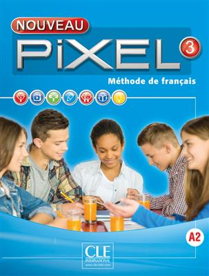 خرید کتاب فرانسه Pixel 3 + Cahier + CD