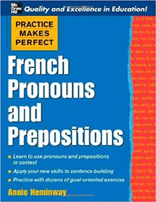 خرید کتاب فرانسه Practice Makes Perfect: French Pronouns and Prepositions