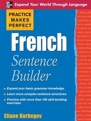 خرید کتاب فرانسه Practice Makes Perfect French Sentence Builder
