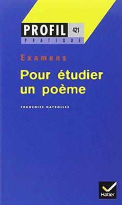 خرید کتاب فرانسه Profil Pour etudier un poeme